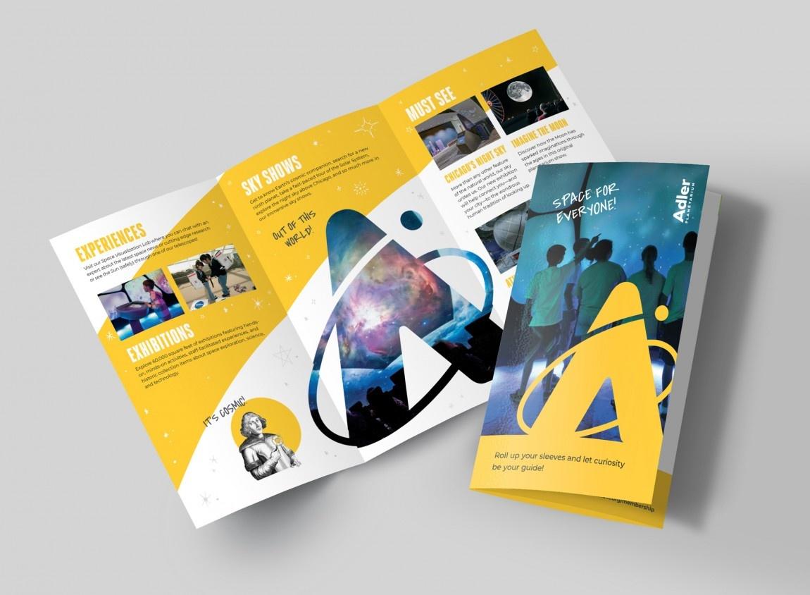 美国阿德勒天文馆vi设计和logo设计