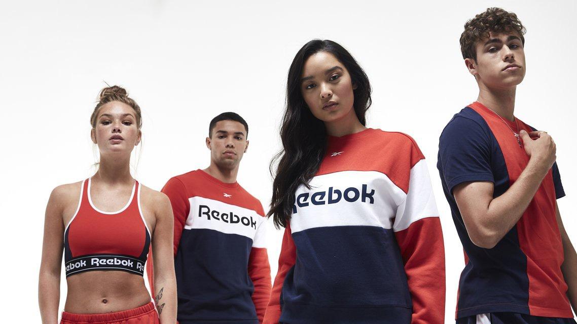 锐步Reebok体育品牌新logo设计,品牌vi设计