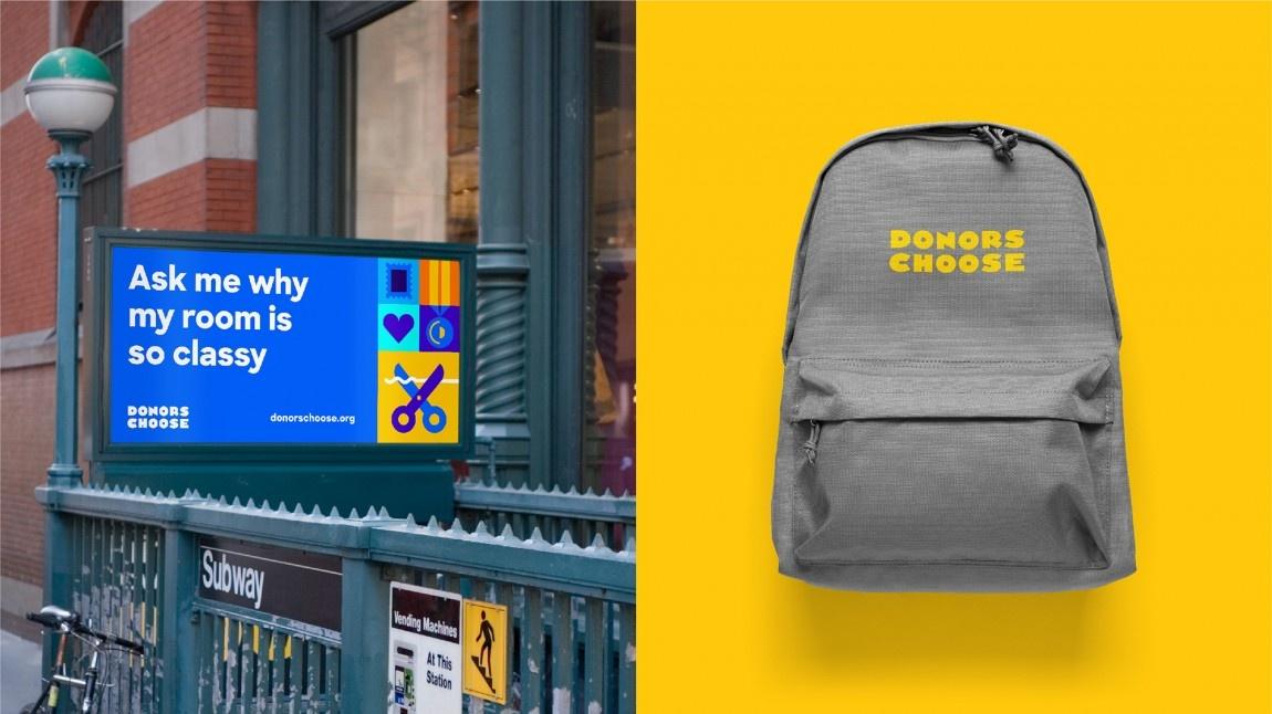 DonorsChoose网上教育平台标志设计,vis设计