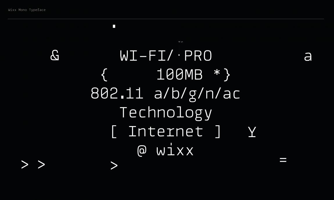 Wixx品牌形象塑造,vis设计全案