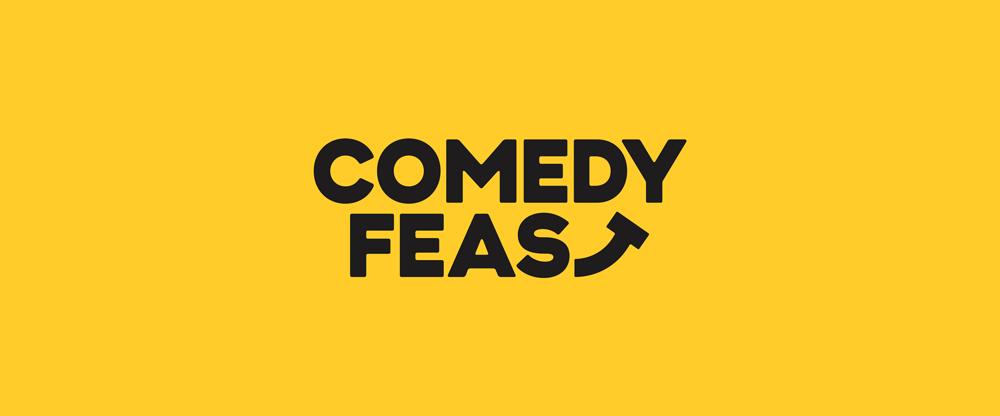 喜剧盛宴Comedy Feast新标志设计