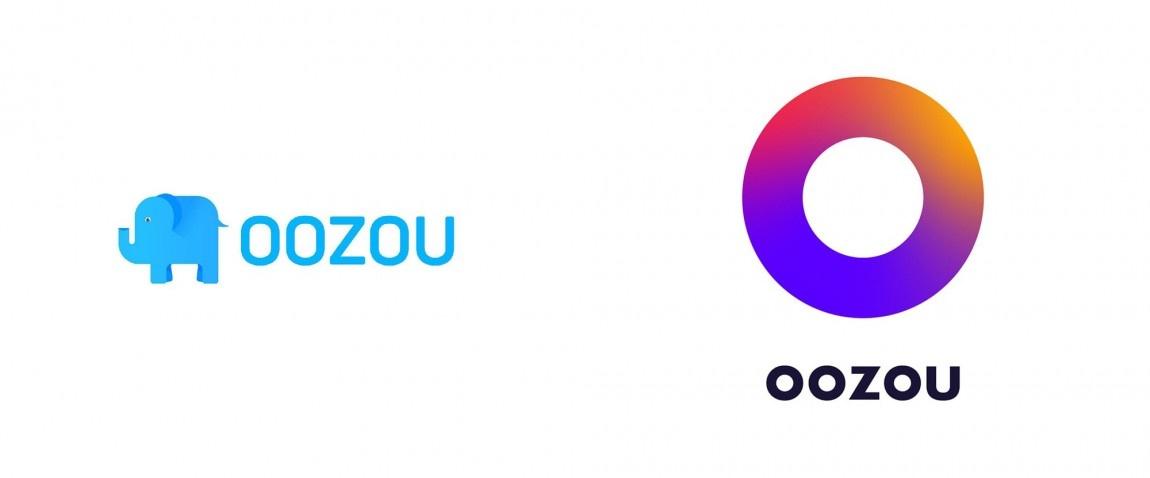 oozou新Logo设计,企业形象塑造