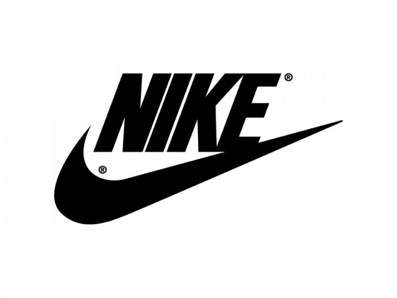 Nike logo + wordmark