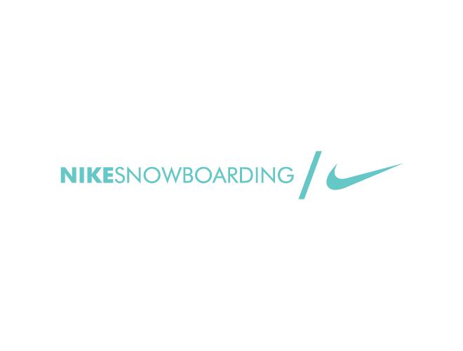 Nike Snowboarding logo logotype