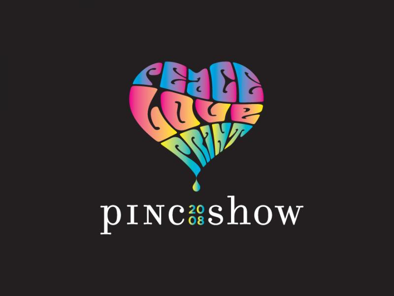 PINC Show logo corlorful