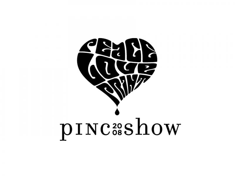 PINC Show logo black