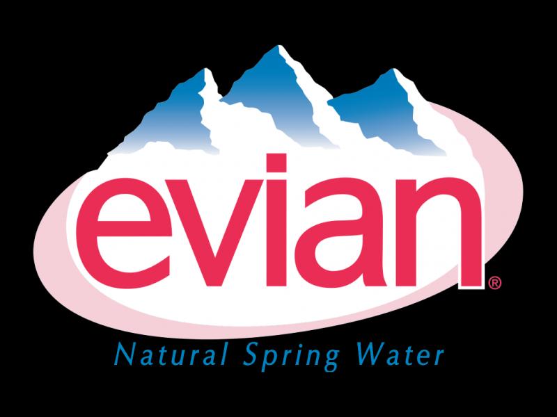 Evian logo old