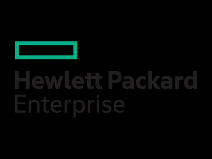 Hewlett Packard Enterprise logo logotype