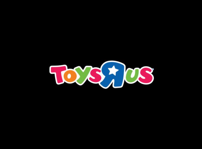 玩具反斗城Toys R us青少年玩具产品零售商logo设计