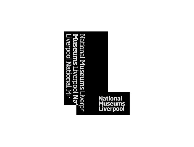 National Museums Liverpool logo black
