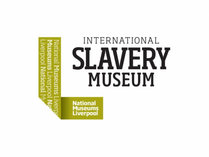 National Museums Liverpool logo International Slavery Museum logo