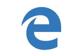 MicrosoftEdge查询工具标志logo设计,品牌设计vi策划