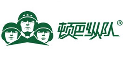 顿巴纵队羽绒服标志logo设计,品牌设计vi策划