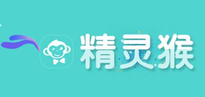 精灵猴布娃娃标志logo设计
