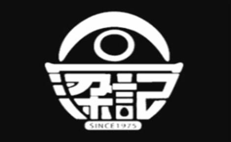 梁记台湾饭团饭团标志logo设计