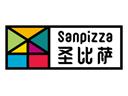 圣比萨披萨标志logo设计