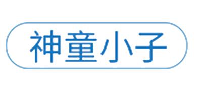 神童小子玩具标志logo设计