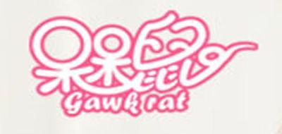 呆呆鼠棉袜标志logo设计