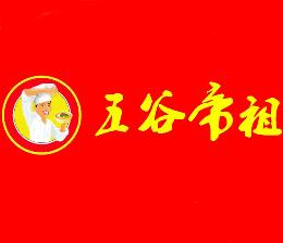 尚品五谷帝祖鱼粉面食标志logo设计