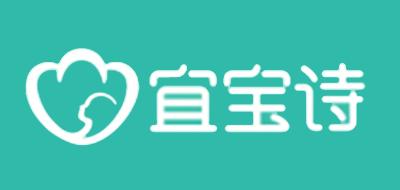 宜宝诗EOBOCH口水巾标志logo设计