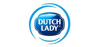 子母Dutchlady奶粉标志logo设计