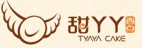 甜丫丫泡芙餐饮行业标志logo设计