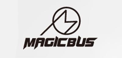 MAGICBUS民谣吉他标志logo设计
