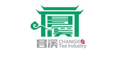昌溪红茶标志logo设计