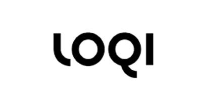 LOQI泳衣标志logo设计