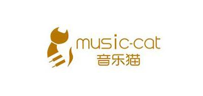 音乐猫Music-cat音响标志logo设计