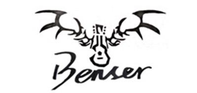 BENSER键盘标志logo设计