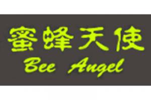 蜜蜂天使毛峰标志logo设计