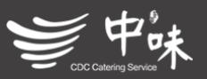 中味团餐标志logo设计