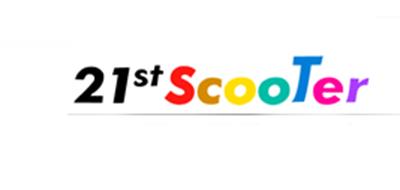 21STSCOOTER滑板标志logo设计