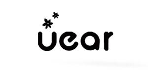 UEAR民谣吉他标志logo设计