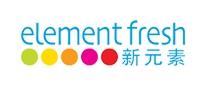 新元素Elementfresh西餐厅标志logo设计