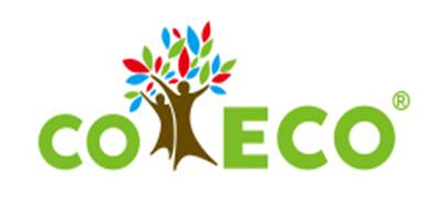 可爱客COECO餐具标志logo设计