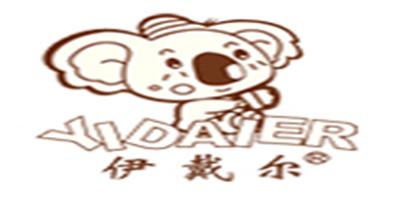 伊戴尔口罩标志logo设计