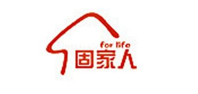 固家人牛排标志logo设计