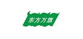 东方万旗生鲜标志logo设计