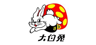 大白兔WhiteRabbit蜂蜜标志logo设计