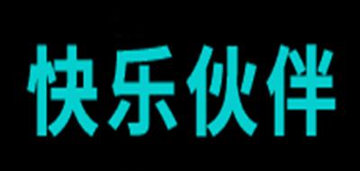 快乐伙伴积木标志logo设计