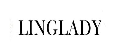 伶达LINGLADY西装标志logo设计