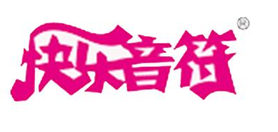 快乐音符女装标志logo设计