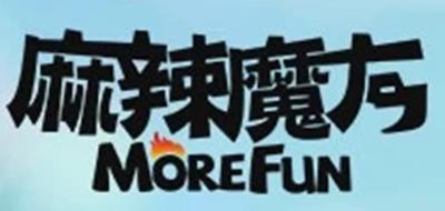 麻辣魔方零食标志logo设计