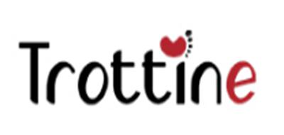 Trottine婴儿推车标志logo设计
